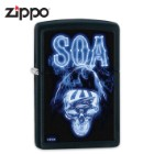 SOA Electric Blue Zippo Lighter