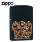 Zippo See No Evil, Hear No Evil, Speak No Evil Lighter