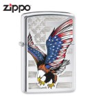 Zippo American Flag Eagle Lighter