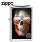 Anne Stokes Skull With Flaming Sunglasses Lighter