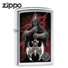 Zippo Anne Stokes Grim Reaper With Scythe Guitar Lighter