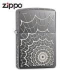 Zippo Black Ice Spider Web Lighter