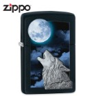 Zippo Classic Howl At The Moon Wolf Lighter