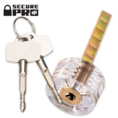 Brockhage Clear Cross Practice Lock