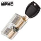 Secure Pro Clear Dimple Practice Lock