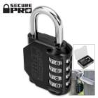 Secure Pro Four Digit Custom Combination Lock
