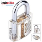 SecurePro Clear Practice Padlock