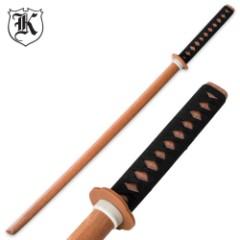 Natural Wooden Daito Bokken Practice Katana Sword