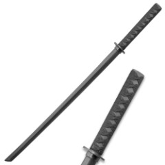 Black Wooden Daito Bokken Katana Sword