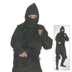 Black Ninja Complete Uniform 1-XL