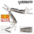 Bushmaster Omnivore Multitool with Heavy Duty Nylon Pouch - BOGO