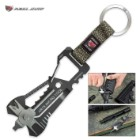 AR15 Micro Repair Tool With Key Ring Strap