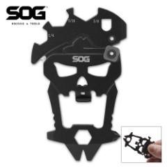 SOG MacV Stainless And Hard-Cased Skull Tool