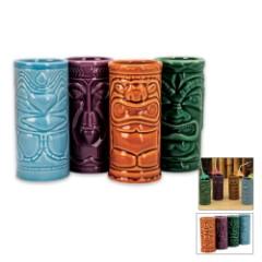 Tiki Mug Set Four