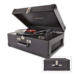 Crosley Keepsake Portable Turntable And Stereo – Black