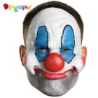 Evil Clown Vinyl Chinless Mask