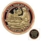 Fear No Evil Spiritual Coin