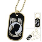 POW MIA Metal Dog Tag