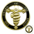 Sword Of The Spirit Cut Out Coin