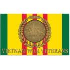 Vietnam War Veterans Service Ribbon 3' x 5' Polyester Flag