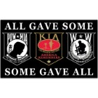 POW MIA / KIA / Wounded Warrior 3' x 5' Flag