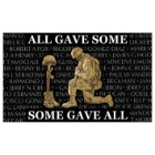 """""""All Gave Some, Some Gave All"""" Military Tribute Flag - 3' x 5'"""