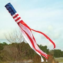 """Old Glory"" American Flag Windsock - 56"""