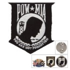 POW MIA Lapel Pin and Patch Gift Set