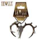 Skullz Perfect 10-Point Deer Skull Mirror Ornament