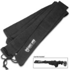 Ghost Viper Tactical Black Gun Sock - Rifle Or Shotgun, Silicone-Treated Knit Fabric, Moisture-Resistant, Drawstring - Length 54""