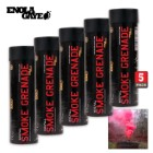 Wire Pull Smoke Grenades Red 5-Pack