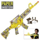 Paper Shooters Zombie Tactical Rifle-Style Yellow Digital Camo Skin Kit