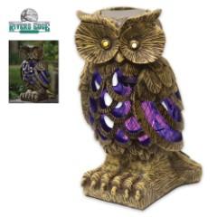 Owl Solar Bug Killer