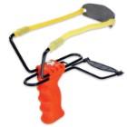 Large Size Slingshot Orange With Molded Grip