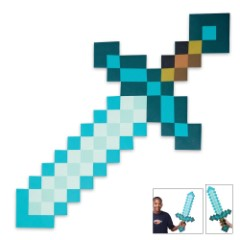 Minecraft Diamond Foam Sword
