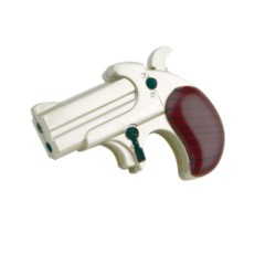 Pistol Lighter with Two Function Flames