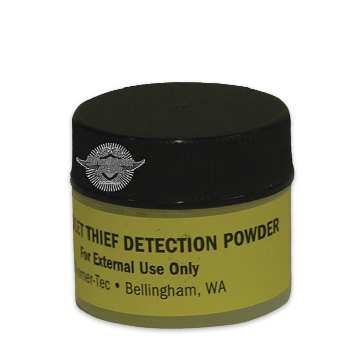 Theft detection Ultra Violet Powder