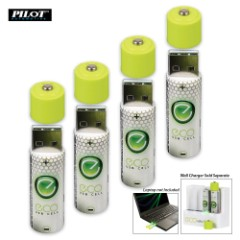 USBCell AA Rechargeable Batteries – 4-Pack