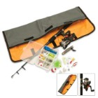 Easy Travel Fishing Kit With Telescoping Rod
