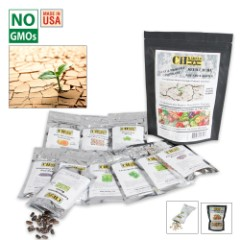 Heat Drought Tolerant Seed Cache