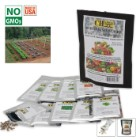 Survival Seed Cache - Heirloom Non-GMO - 32,000 Seeds