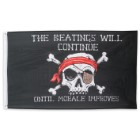 Beatings Will Continue Pirate Flag – 3' X 5'