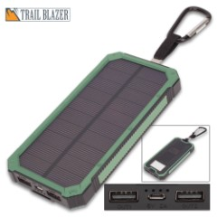 12000 MAH Solar Charger And Power Bank