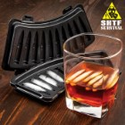 SHTF AK-47 Bullet Ice Tray - BPA-Free Hard Plastic Construction, Makes Ten Ice Cubes, Dishwasher Safe, Great Gift Idea