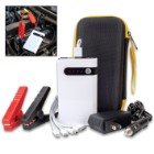 Portable Car Battery Jumper And Power Bank With Case - Battery Clamps, Home And Car Adaptor, USB Multi-Head Cable