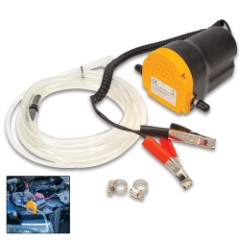 12V Oil Extraction Pump - Quick And Clean Oil Changes, Powered By Car Battery, 3 Liters Per Minute Max Flow Rate