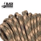 300' Black Savage Paracord - Brown Snake