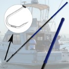 """Cuda 6' Carbon Fiber Gaff with 3"""" Stainless Steel Hook"""