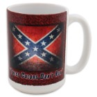 Confederate Flag These Colors Dont Run Mug