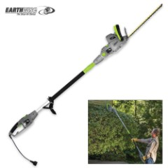 Earthwise Corded 120V Pole Hedge Trimmer – 18""